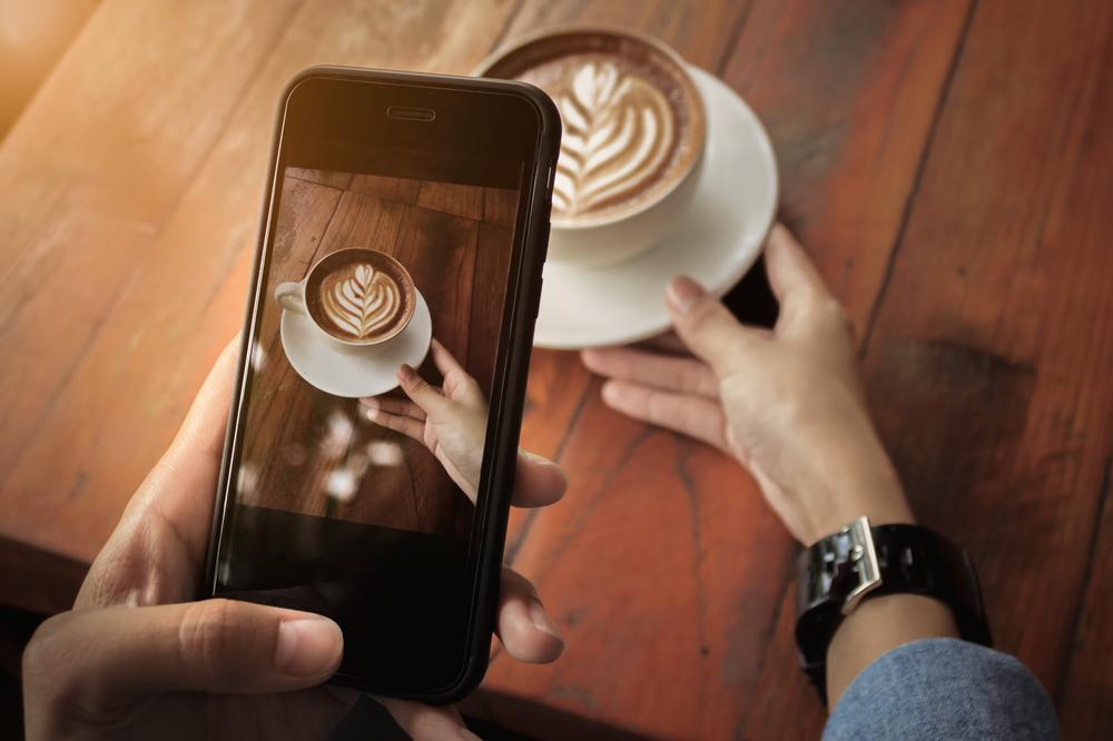 自宅でカフェ風コーヒー!インスタ映えするには